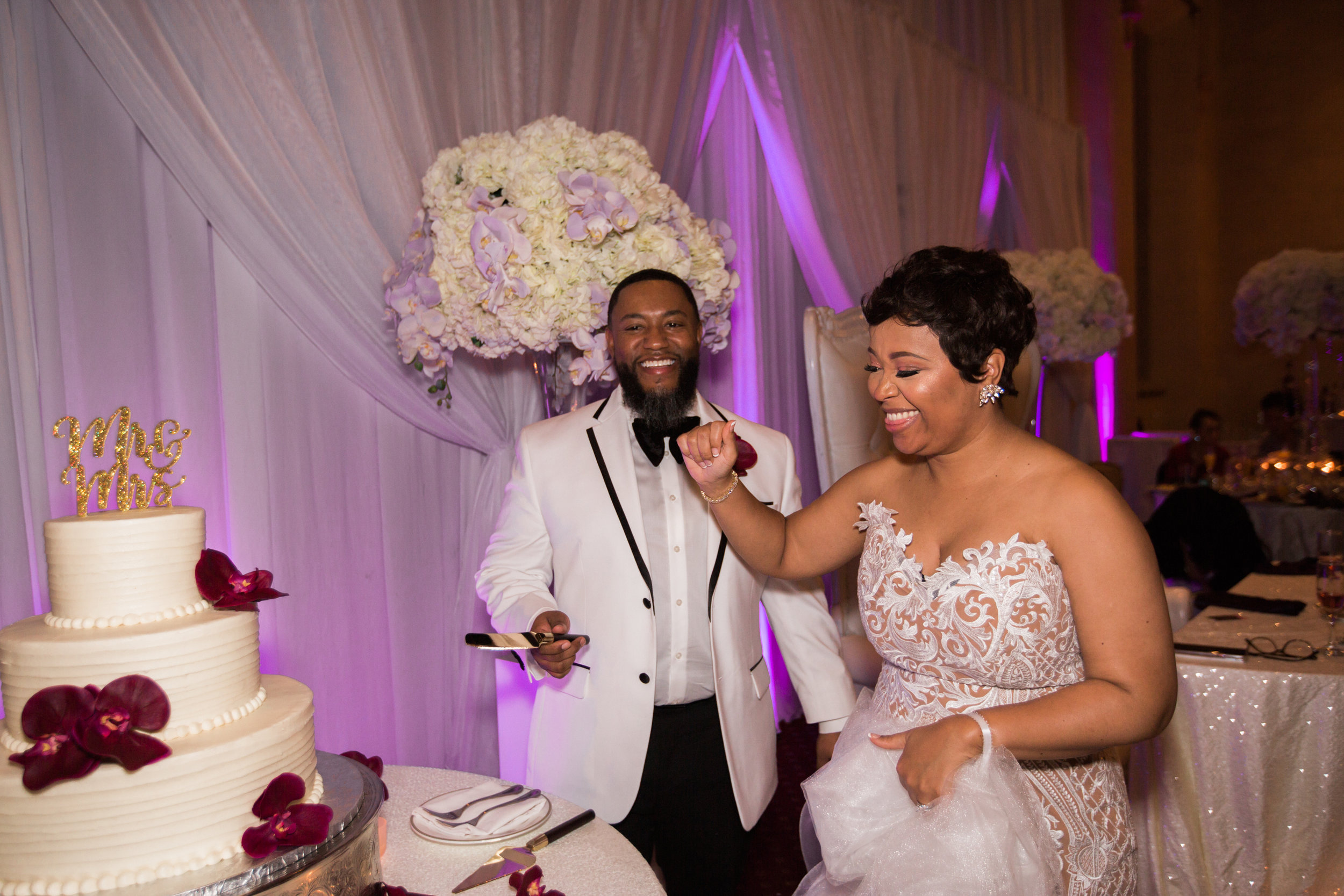 Best Classic Black Bride at The Grand Baltimore Maryland Husband and Wife Wedding Photographers Megapixels Media (83 of 98).jpg