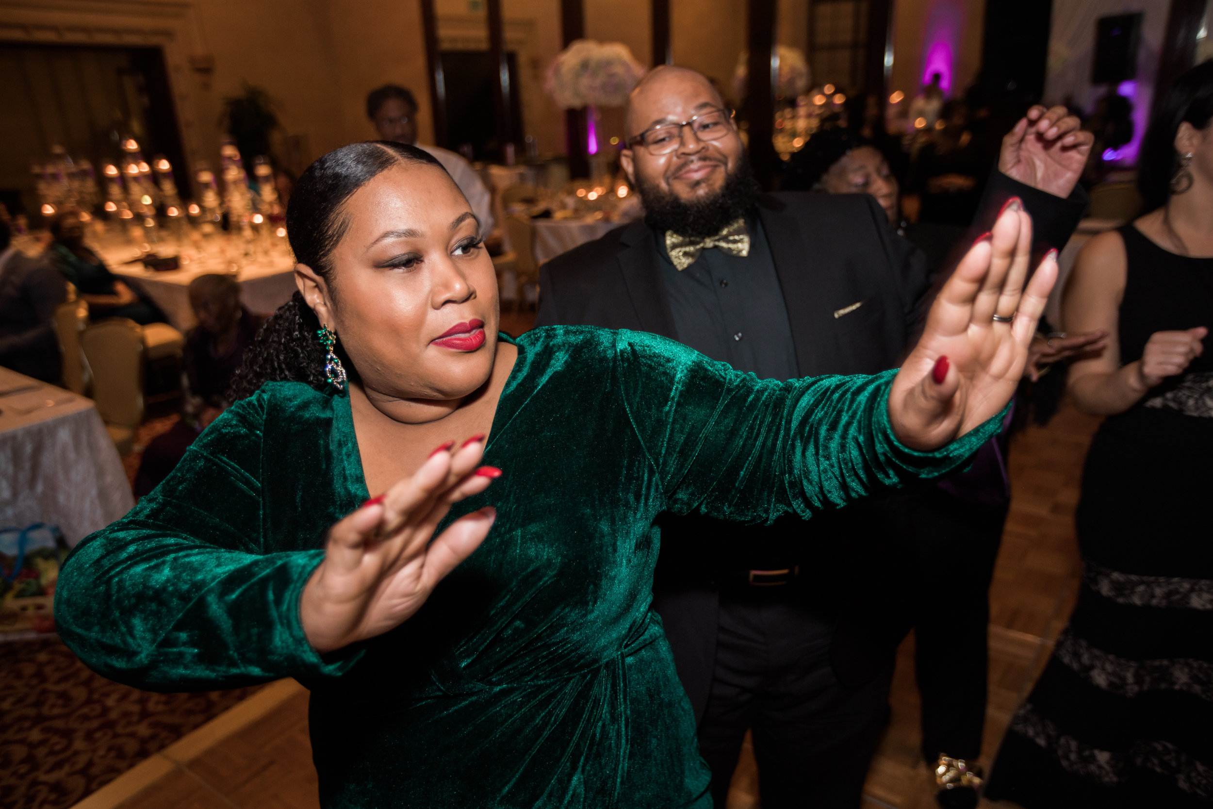 Best Classic Black Bride at The Grand Baltimore Maryland Husband and Wife Wedding Photographers Megapixels Media (87 of 98).jpg
