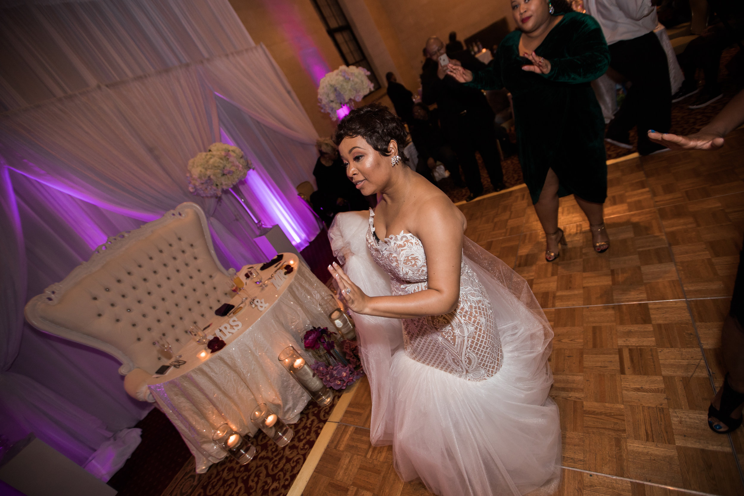 Best Classic Black Bride at The Grand Baltimore Maryland Husband and Wife Wedding Photographers Megapixels Media (89 of 98).jpg