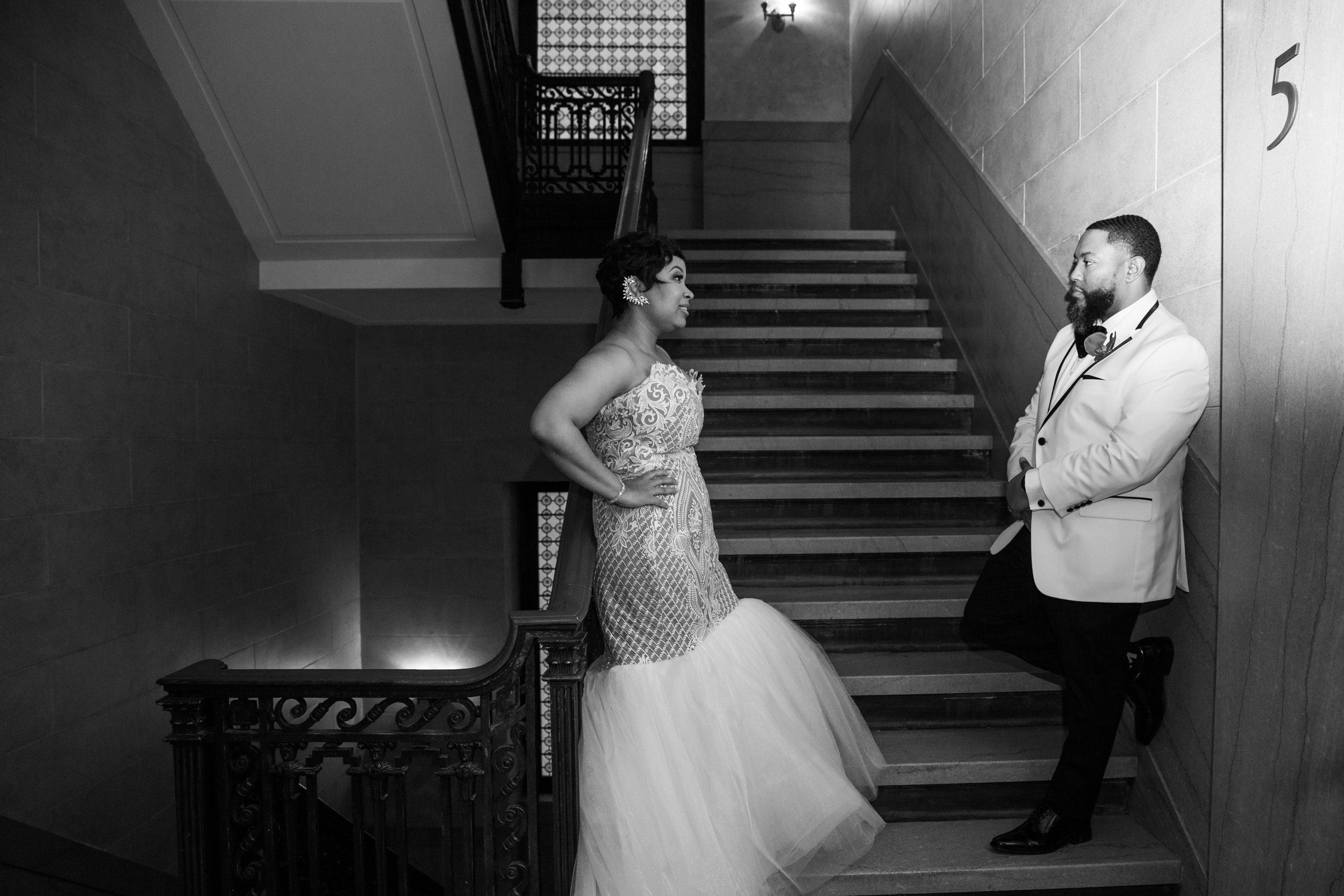 Best Classic Black Bride at The Grand Baltimore Maryland Husband and Wife Wedding Photographers Megapixels Media (96 of 98).jpg