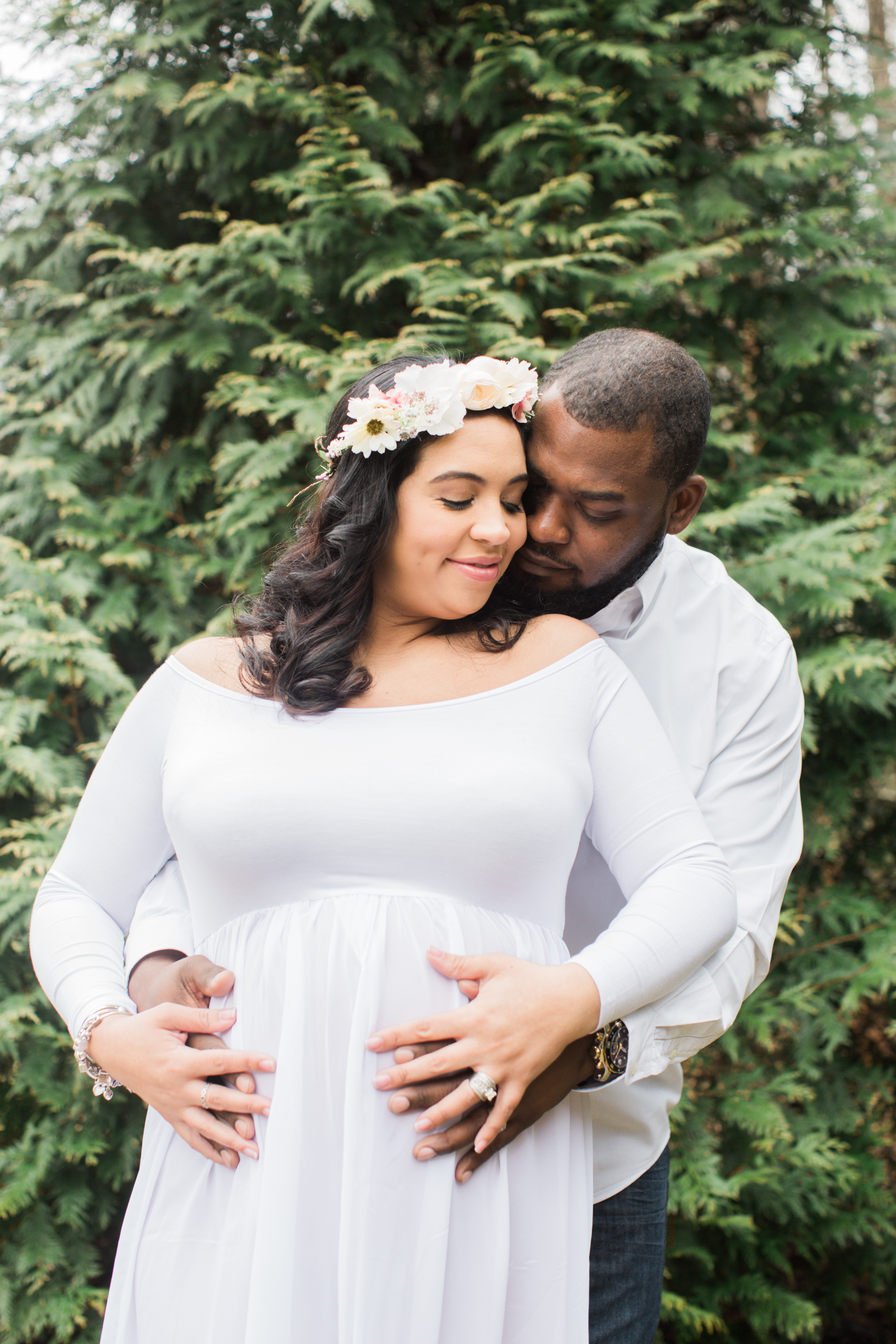 Black Family Photographers in Baltimore Maryland Maternity Photography by Megapixels Media -7.jpg
