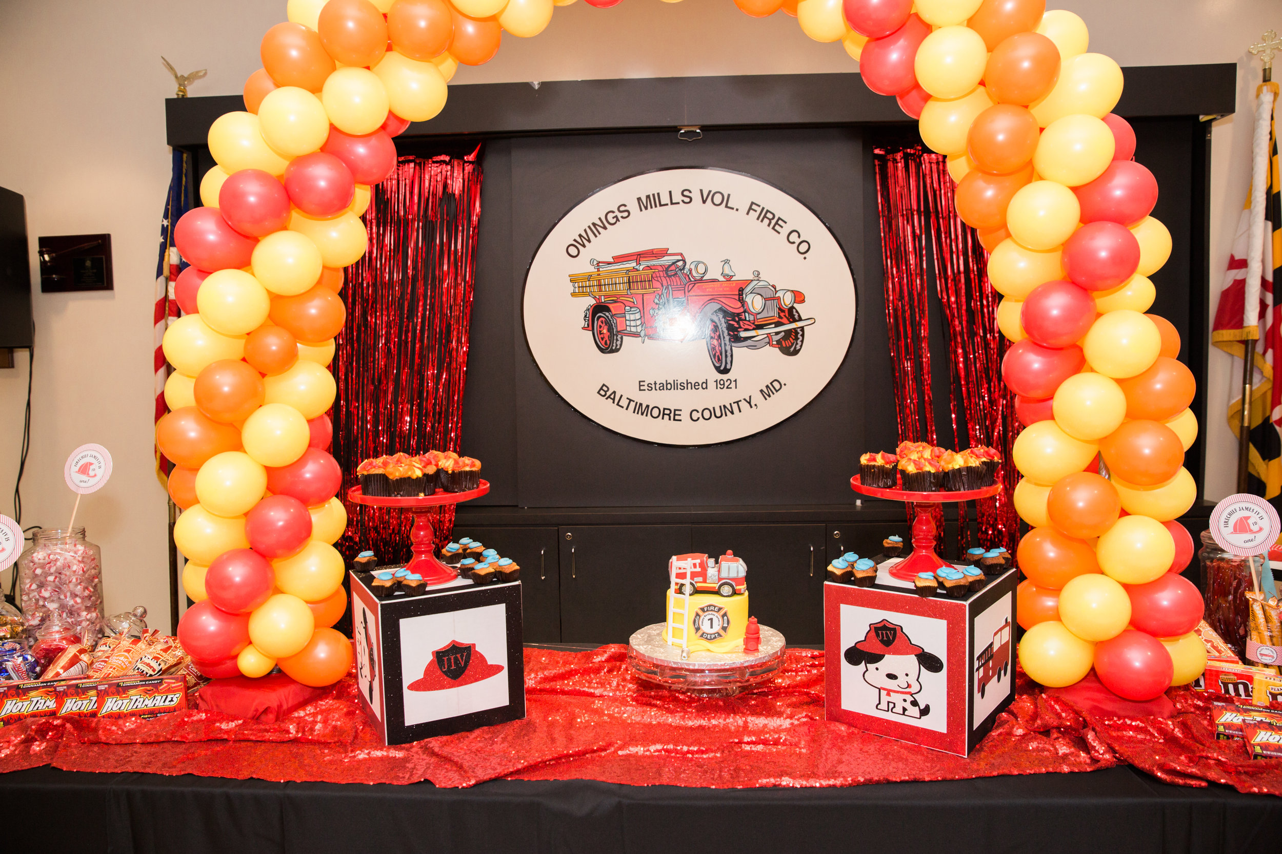 Fireman Birthday Party Ideas  Decorations Owings Mills Fire Department Maryland Family Photographers Megapixels Media Photography (41 of 55).jpg