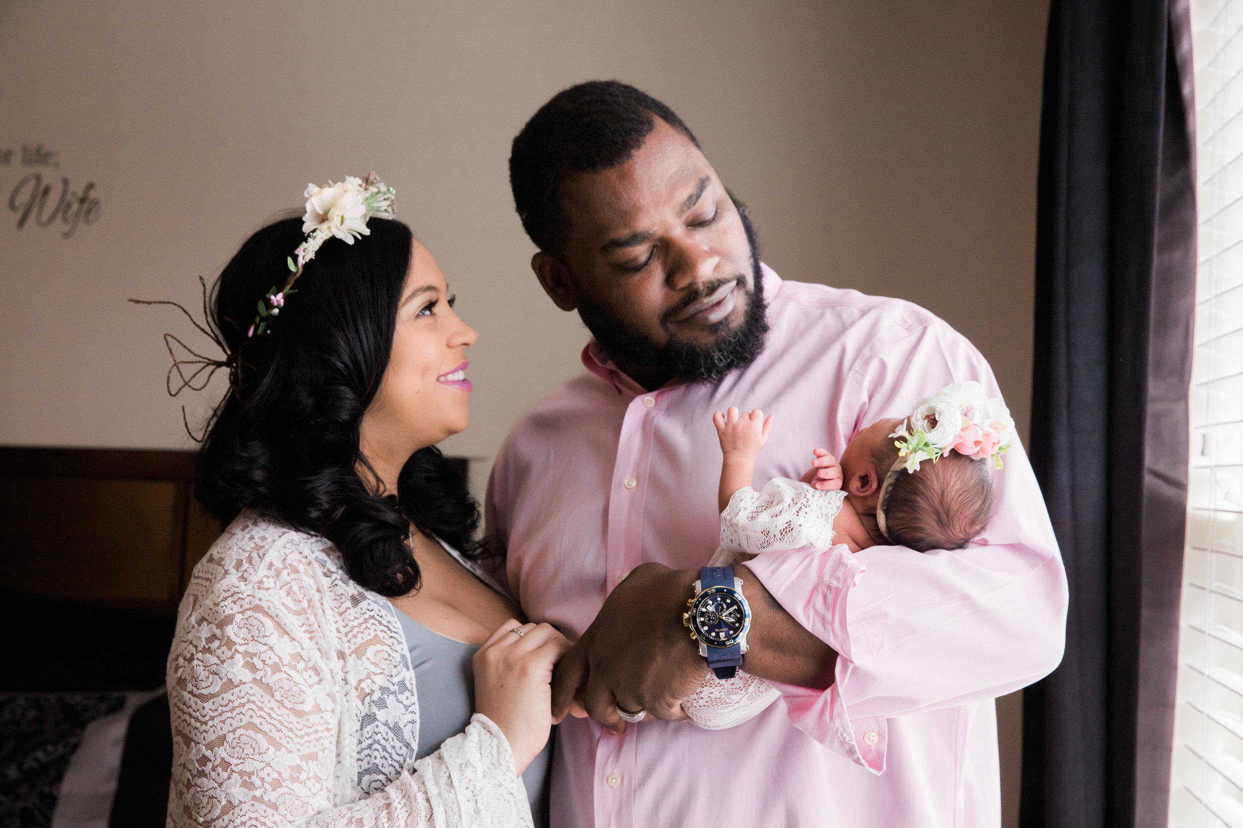 Maryland Maternity and Newborn Photography in Home Megapixels Media Black Mom Photographer-31.jpg