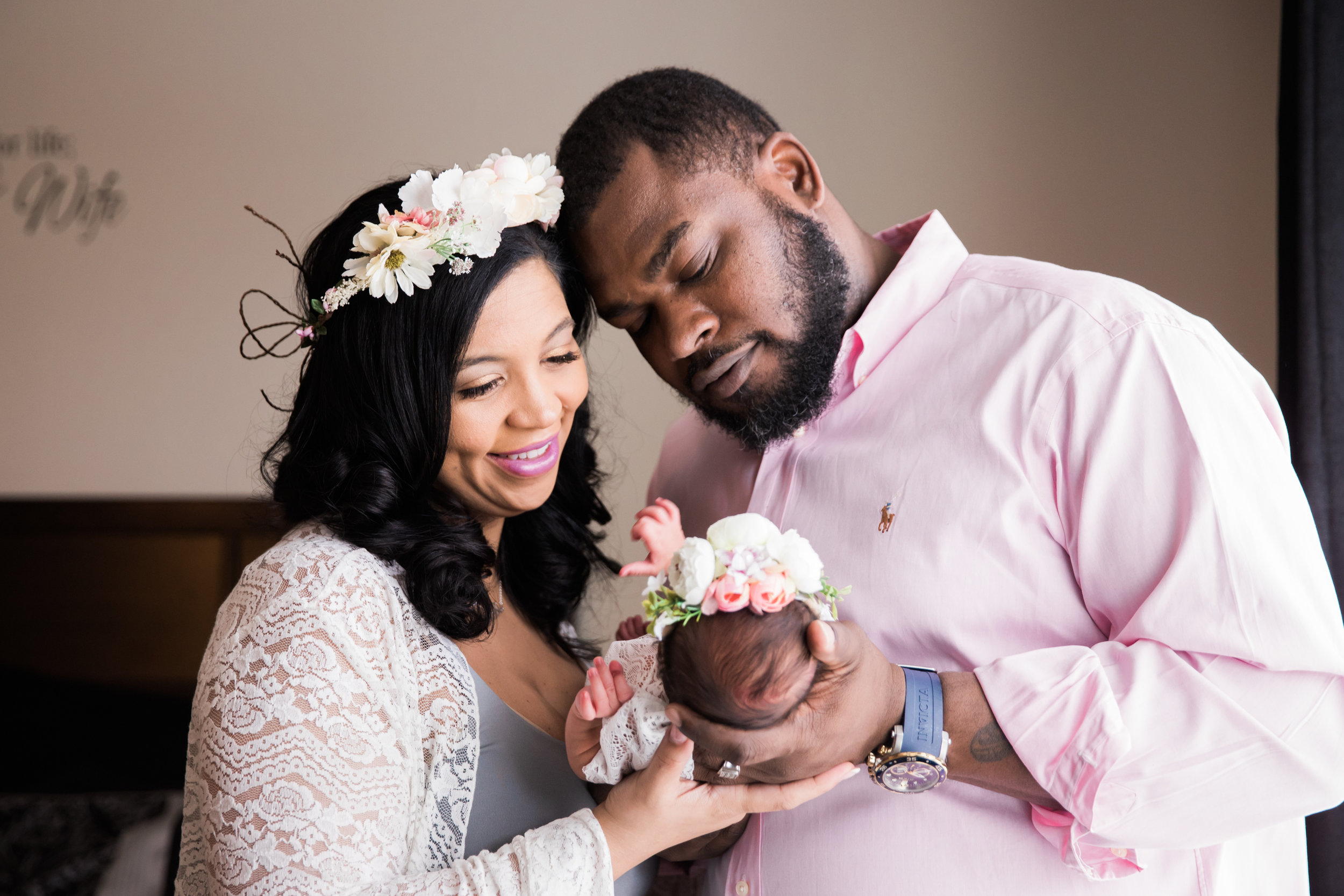 Maryland Maternity and Newborn Photography in Home Megapixels Media Black Mom Photographer-33.jpg