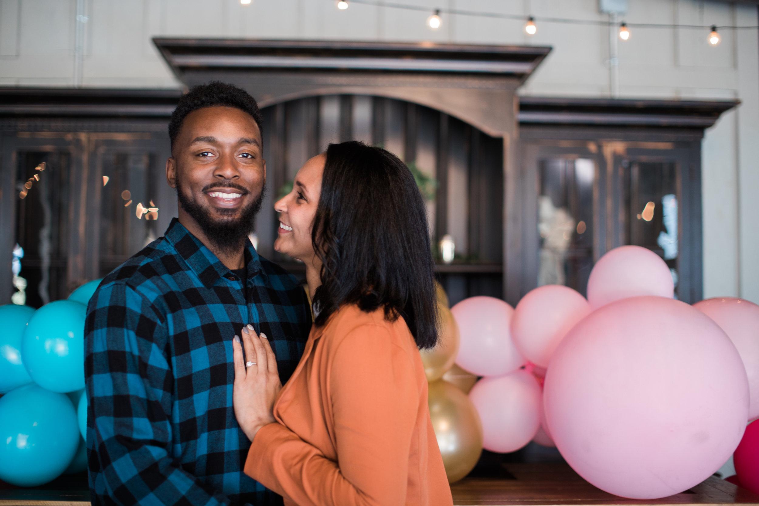 Black engaged couple maryland wedding photographer megapixels media photography main street ballroom ellicott city-3.jpg