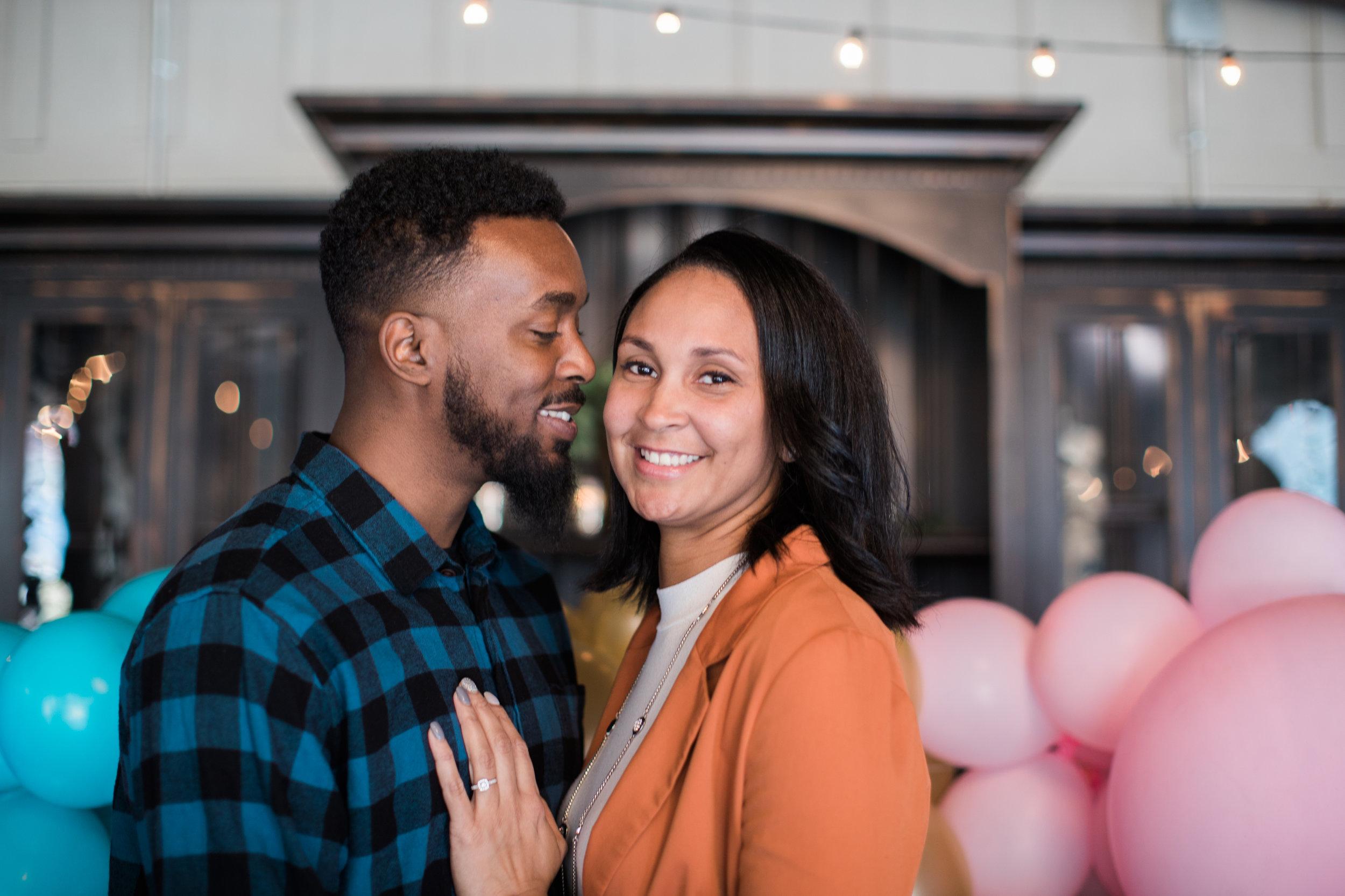 Black engaged couple maryland wedding photographer megapixels media photography main street ballroom ellicott city-4.jpg