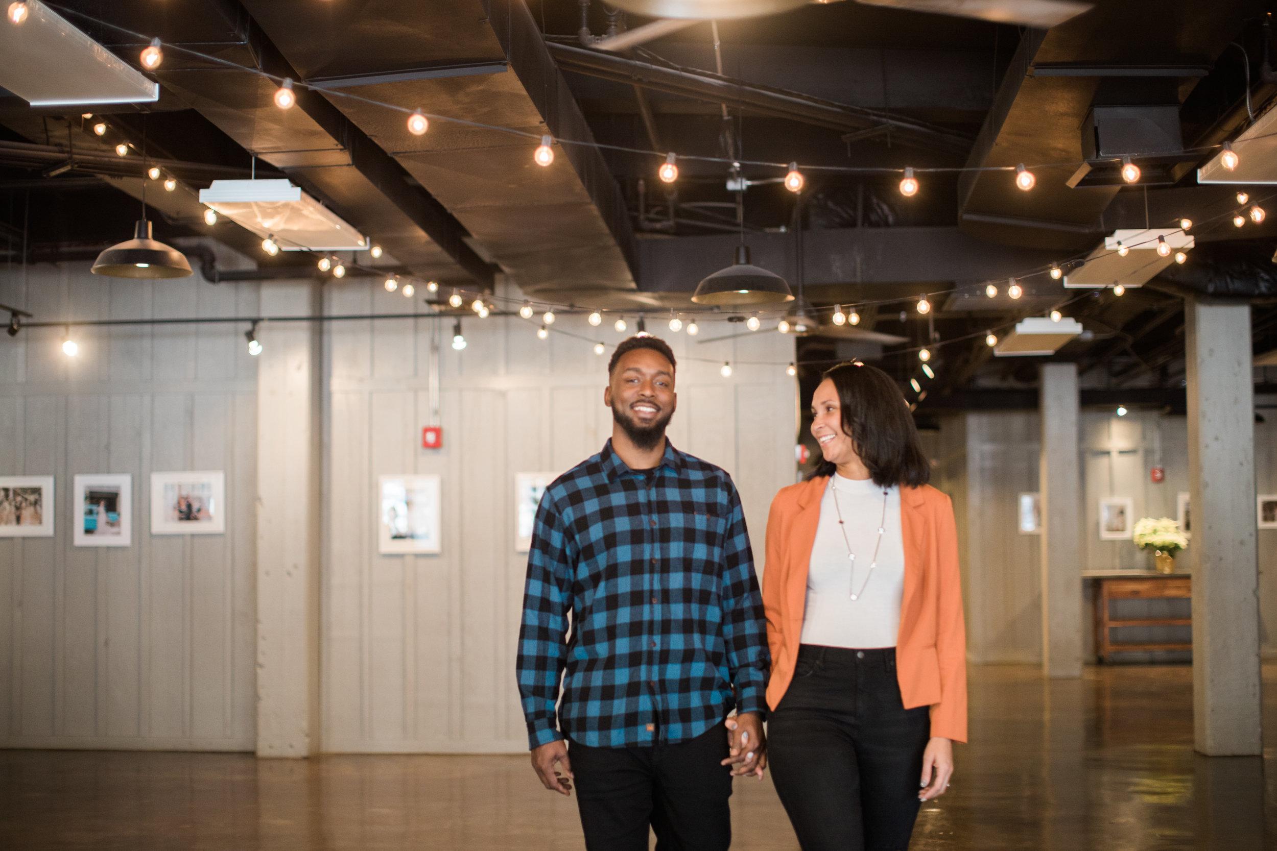Black engaged couple maryland wedding photographer megapixels media photography main street ballroom ellicott city-5.jpg
