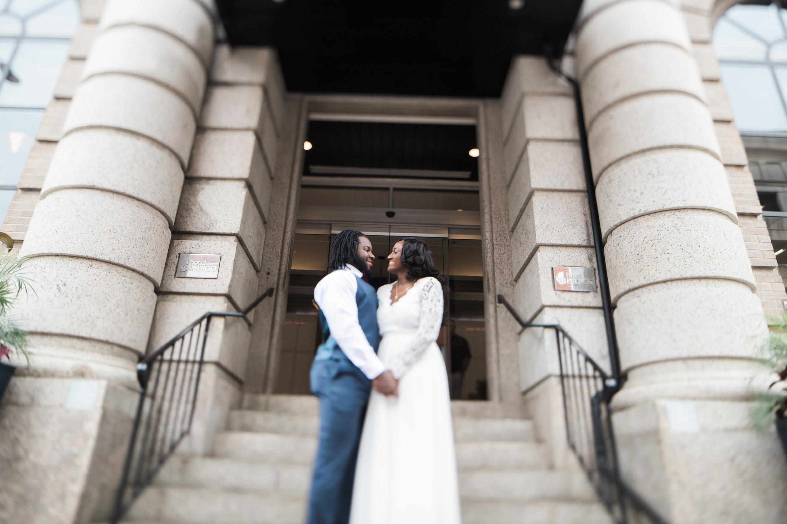 Baltimore City Wedding at Hotel Indigo Megapixels Media Photography Tira Lynn Events Black Bride and Groom (28 of 74).jpg