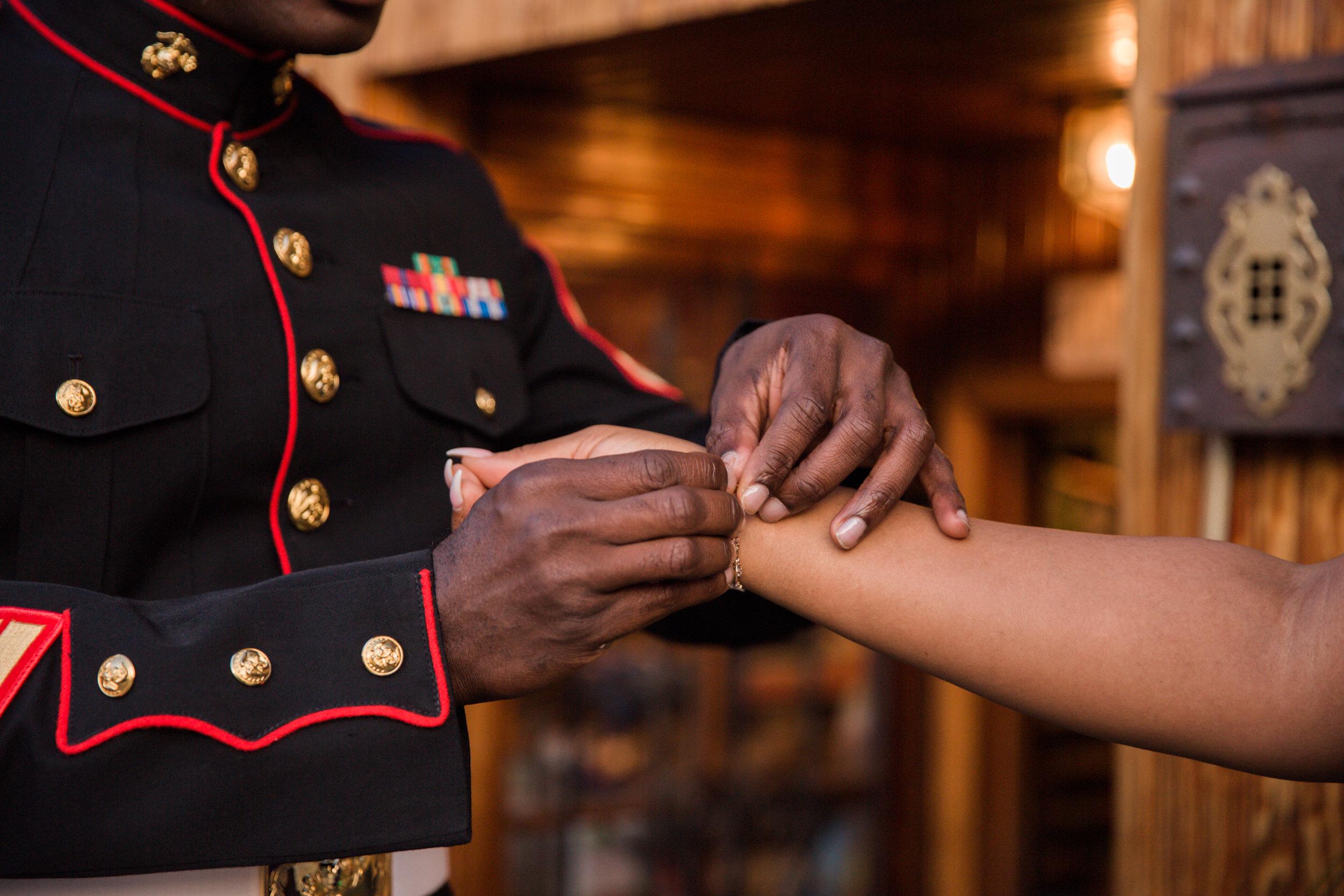 Royal Blue Marine Engagement Session Black Bride Wedding Photographers Megapixels Media Baltimore Maryland Photographers-2.jpg
