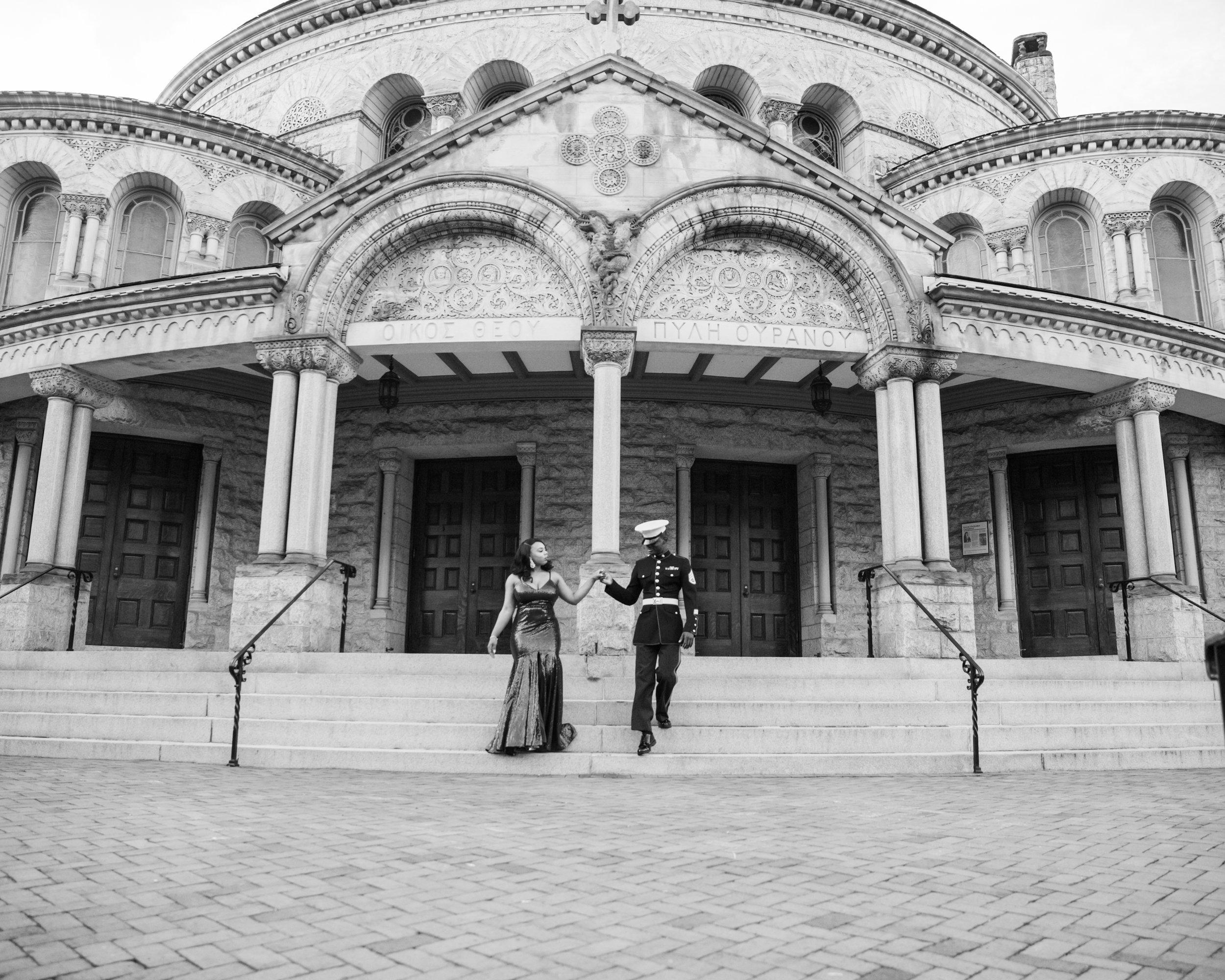 Royal Blue Marine Engagement Session Black Bride Wedding Photographers Megapixels Media Baltimore Maryland Photographers-8.jpg
