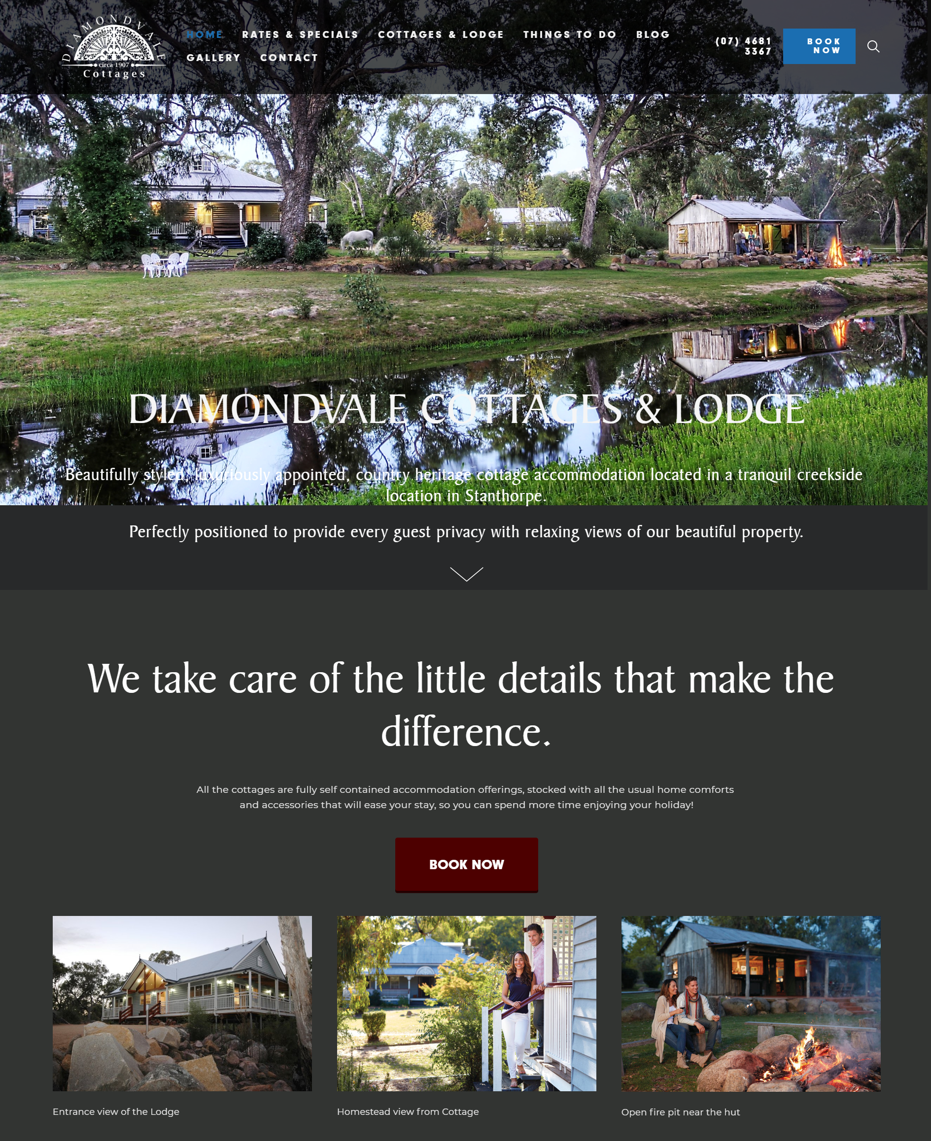 Diamondvale Cottages, Stanthorpe