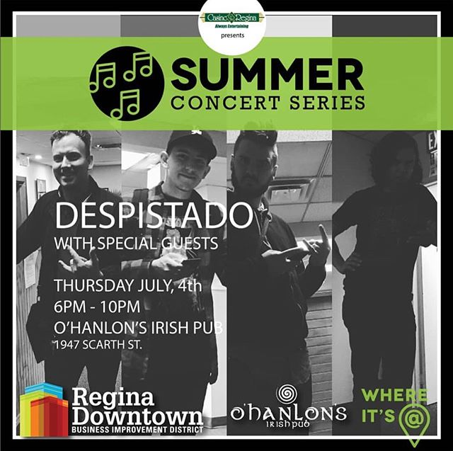 Tonight! We're having a street party and you're invited! Despistado w/ Andino Suns live on stage right in front of the pub. Show kicks off at 7 and admission is FREE.