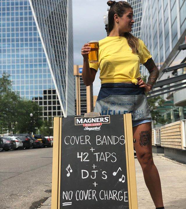 Labor Day weekend ready! We just tapped @rebbrewregina Watermelon Wheat Ale.  We've got a dance party going down tonight and then tomorrow we have THREE sets from Regina's favourite cover band @dangerouscheese80s.  No cover charge!