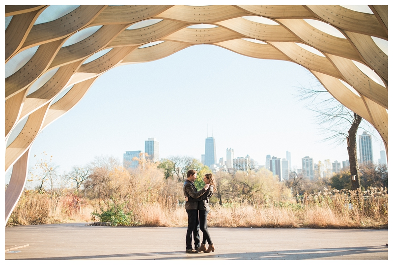 Lincoln Park Honeycomb Engagement