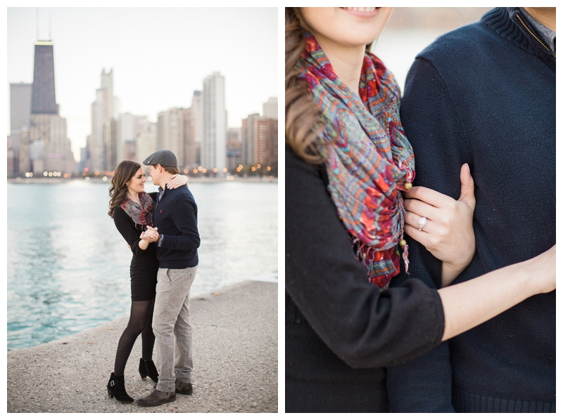 Chicago Lakefront Engagement