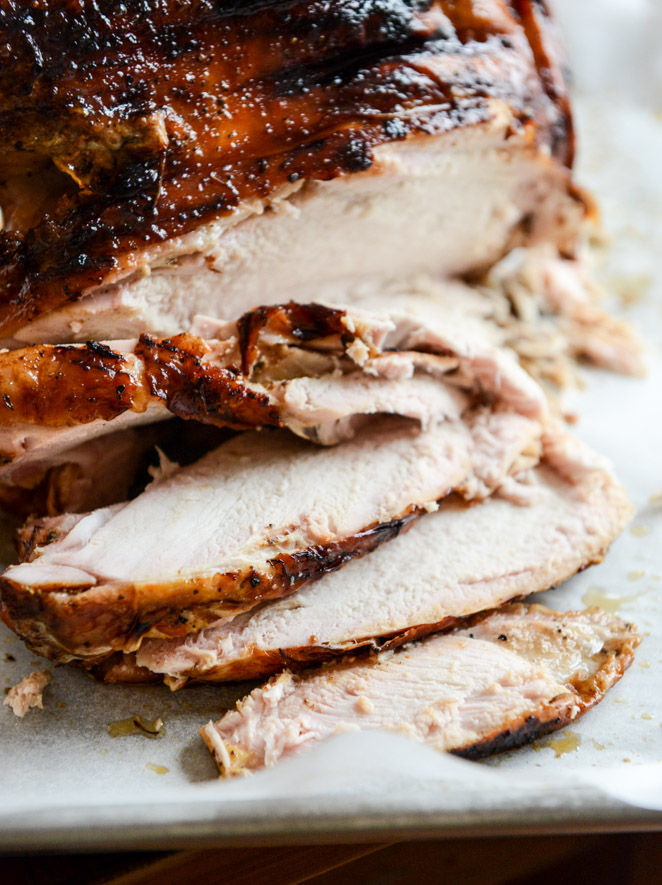 How Sweet It Is Applewood smoked turkey and cider bourbon gravy