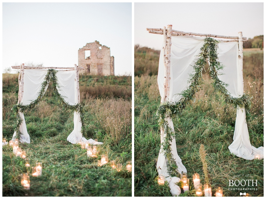 outdoor wedding ceremony inspiration