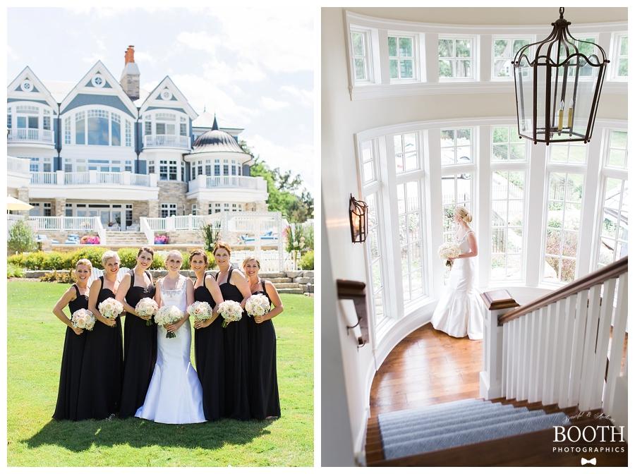 Fine art private estate wedding