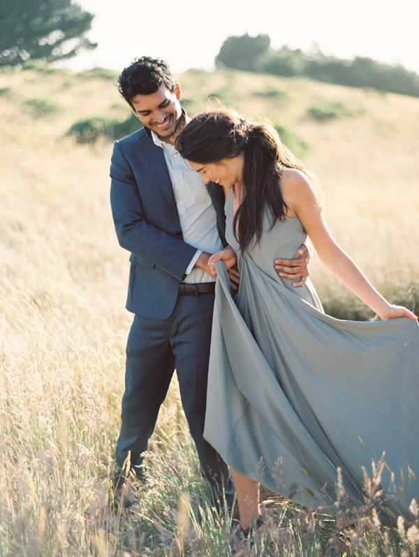image via  OnceWed on our board  Engagement Style
