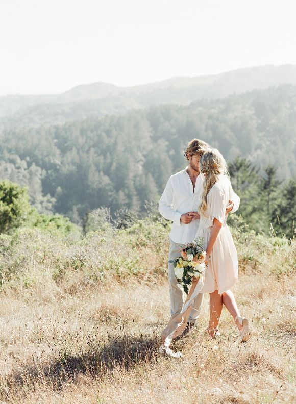 image via  Wedding Sparrow  on our board  Engagement Style