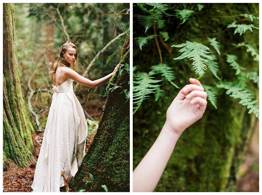 fine art wedding photography in rainforest