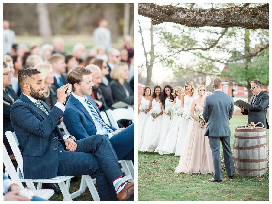 fine art outdoor Wisconsin wedding