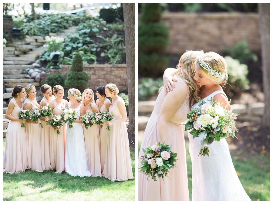 fine art bride at her private estate wedding