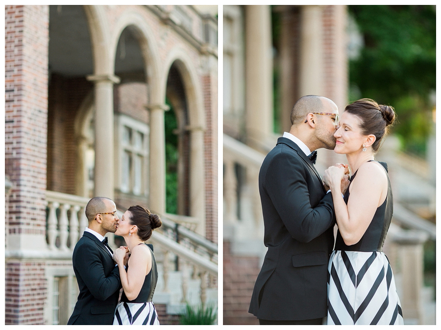 UW Madison campus engagement session