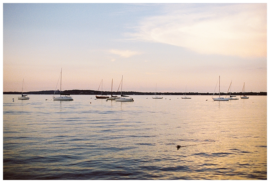 Lake Mendota sunset