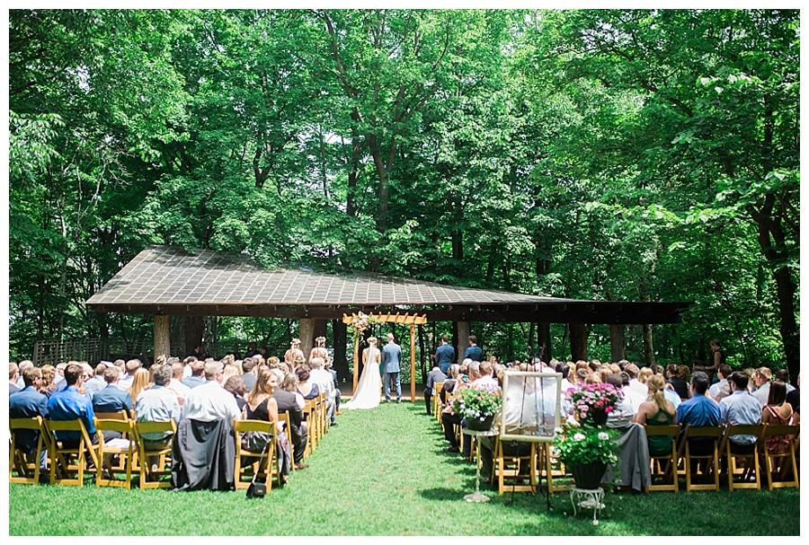 fine art photography of outdoor Lake Michigan wedding