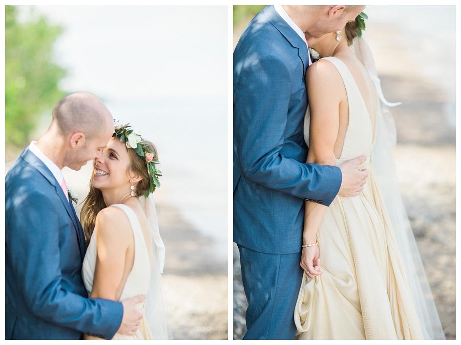 Lake Michigan fine art wedding photography