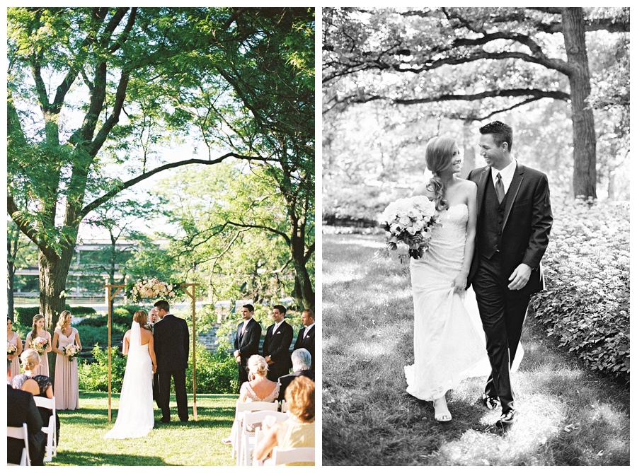 Chicago garden wedding