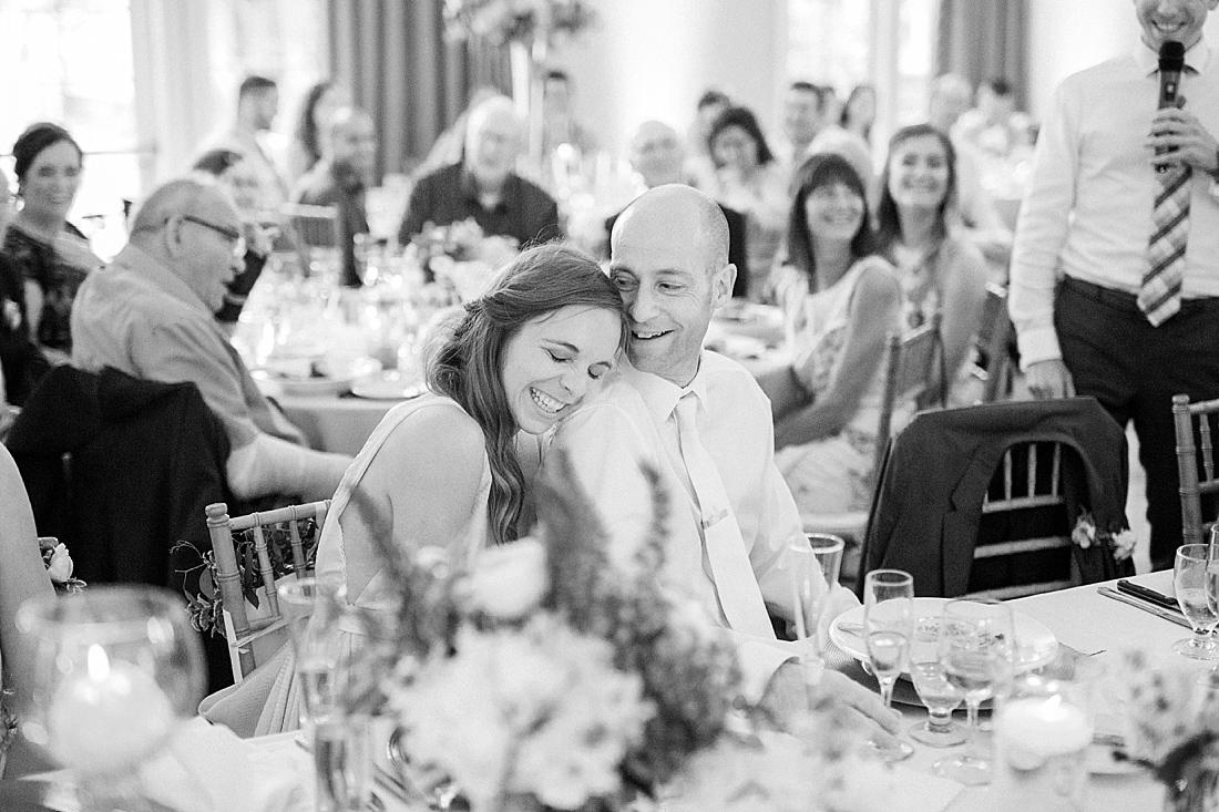 fine art photography of english garden inspired wedding reception