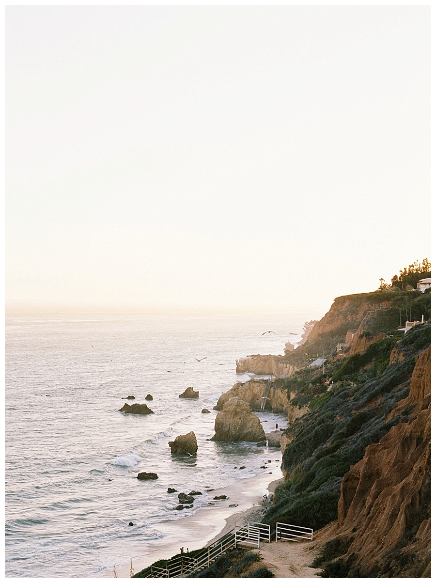 fine art film photography at El Matador Beach, Malibu, CA