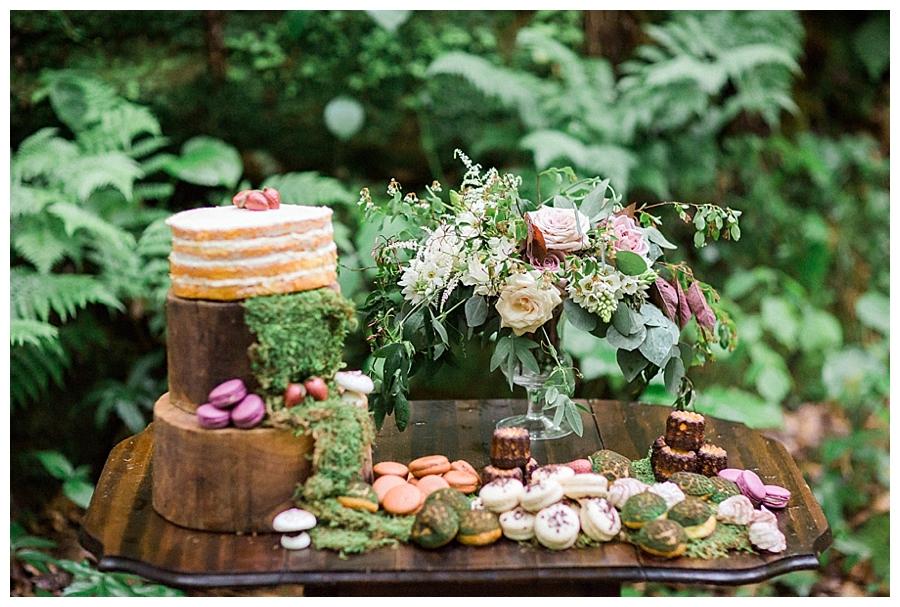 fine art Wisconsin outdoor wedding styling