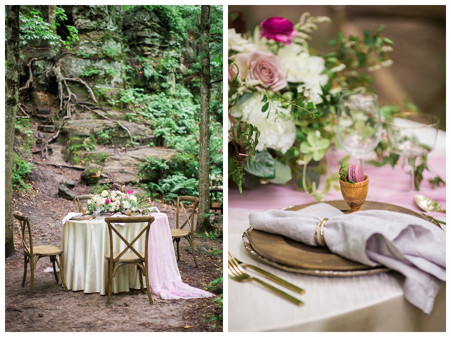 fine art Wisconsin outdoor wedding reception