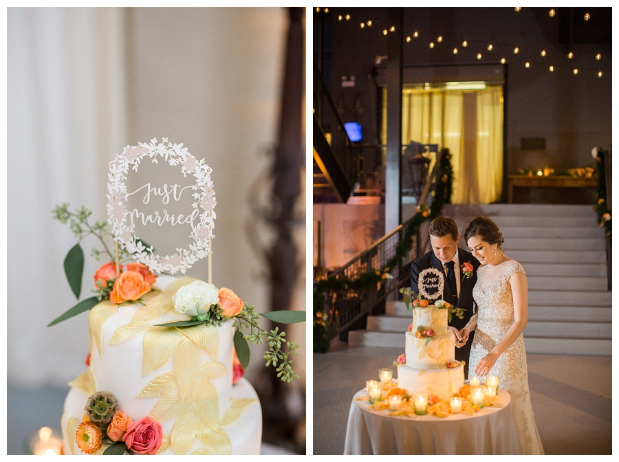fine art wedding photography of wedding reception at Artifact Events of Chicago
