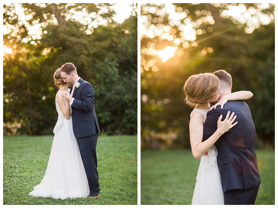 fine art sunset wedding photography at the Lageret in Stoughton, WI
