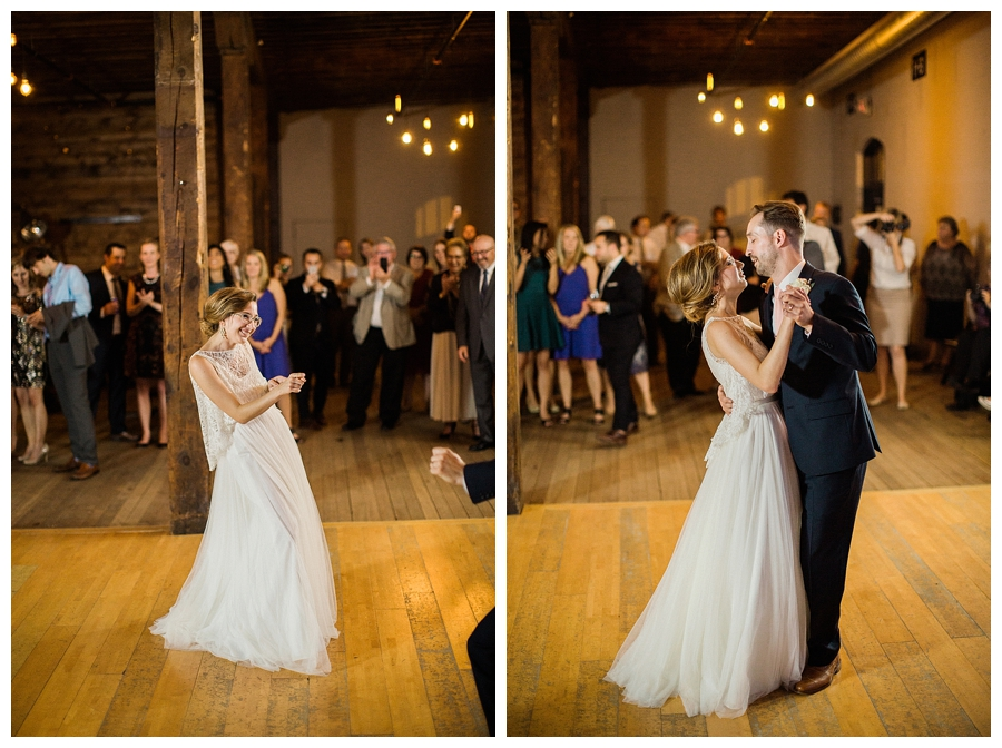 fine art wedding reception at the Lageret in Stoughton, WI