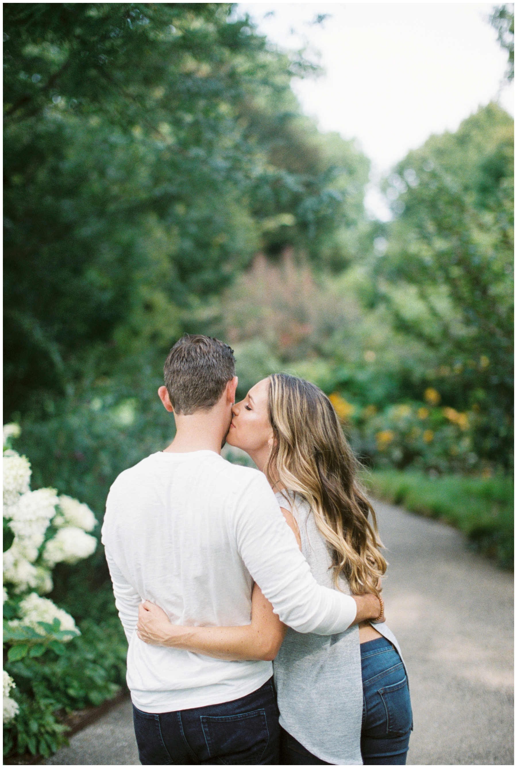 Morton Arboretum fine art engagement session