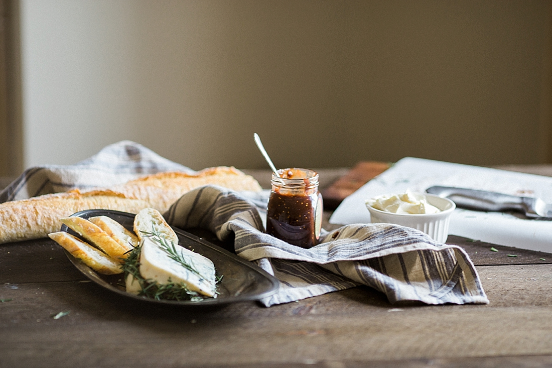 fine art food and cookbook styling