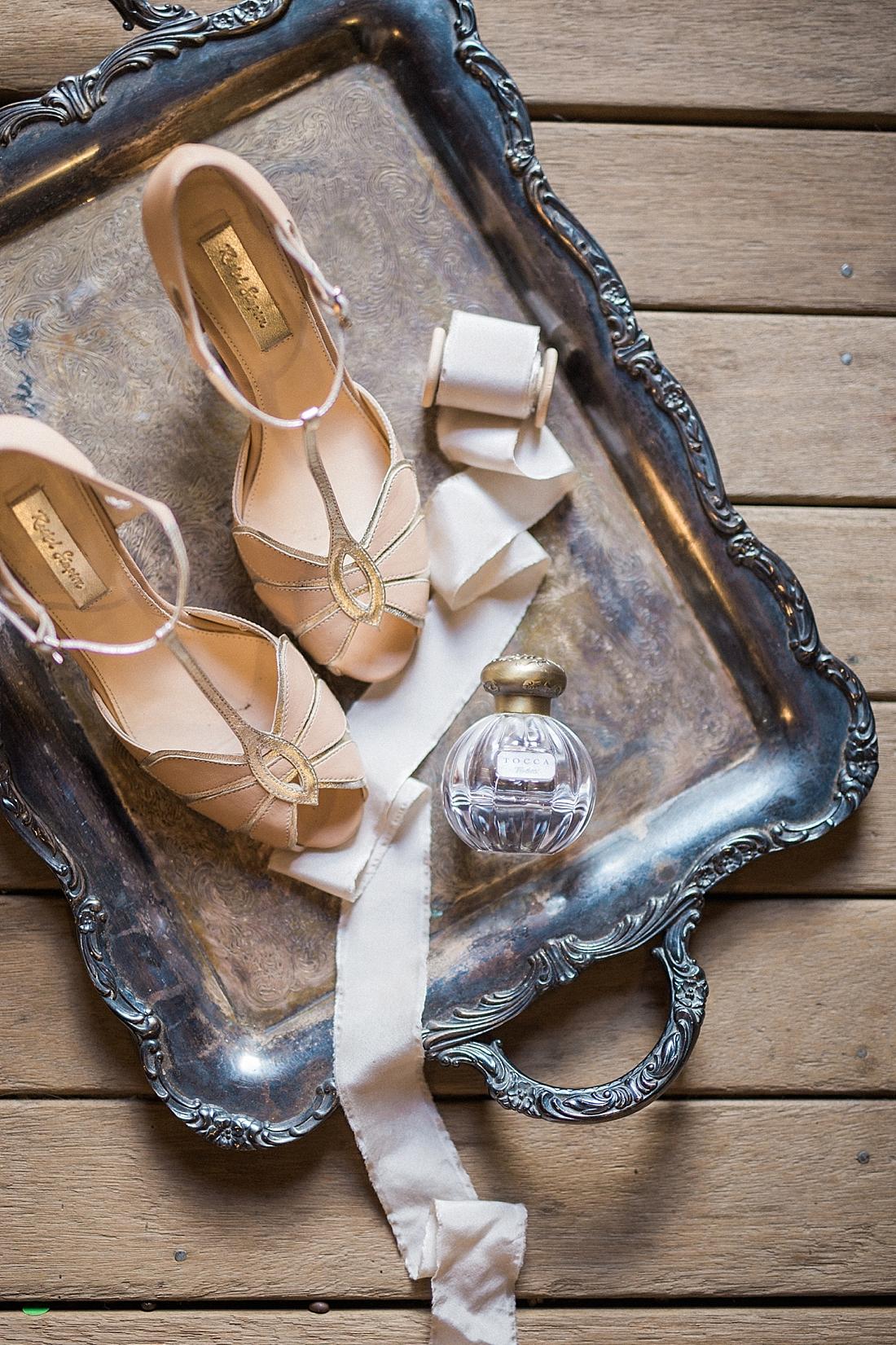 fine art wedding styling