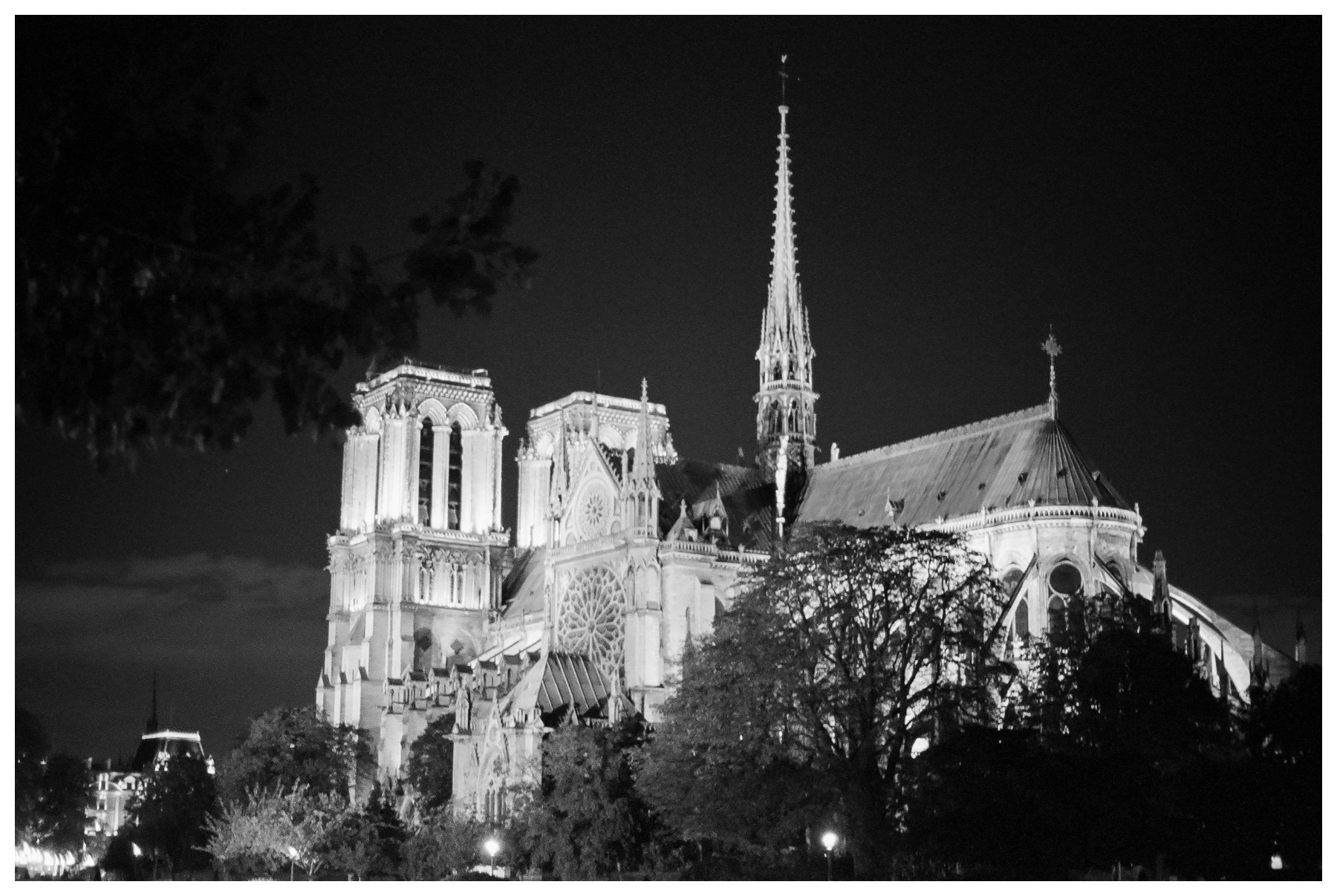 fine art travel photography by Booth Photographics of the Notre Dame Cathedral in Paris, France