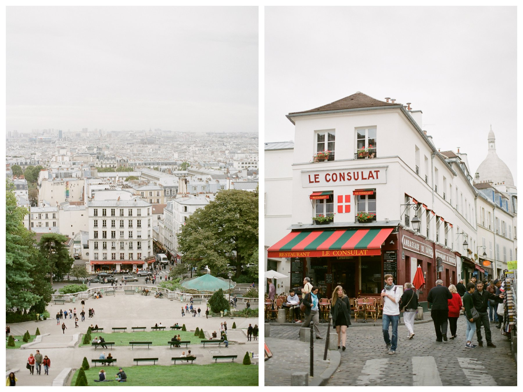 fine art travel photography by Booth Photographics in Montmartre in Paris, France