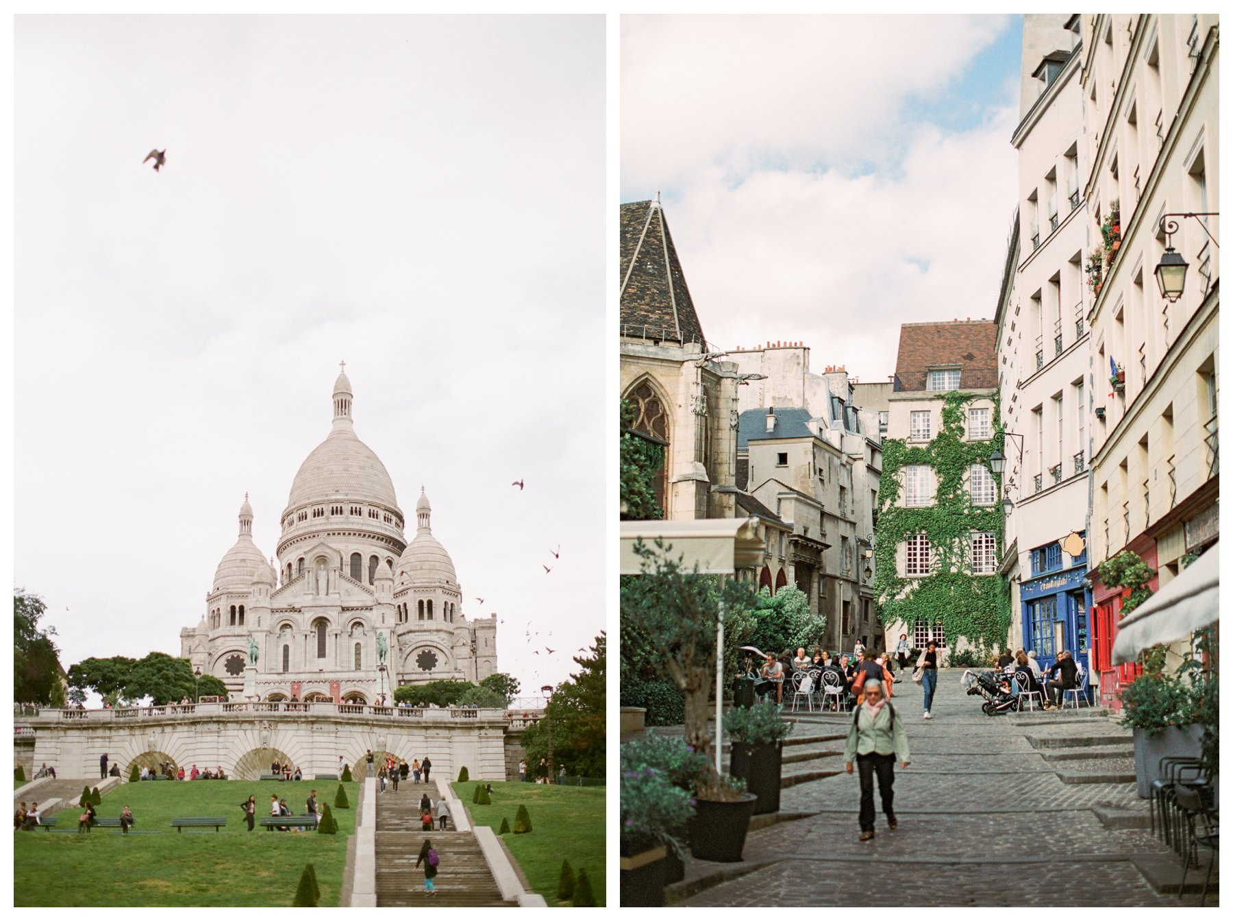 fine art travel photography by Booth Photographics of the Sacre Coeur in Montmartre, Paris, France