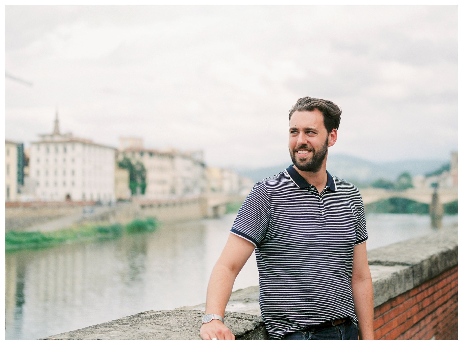 fine art travel photography of Florence and Ponto Vecchio