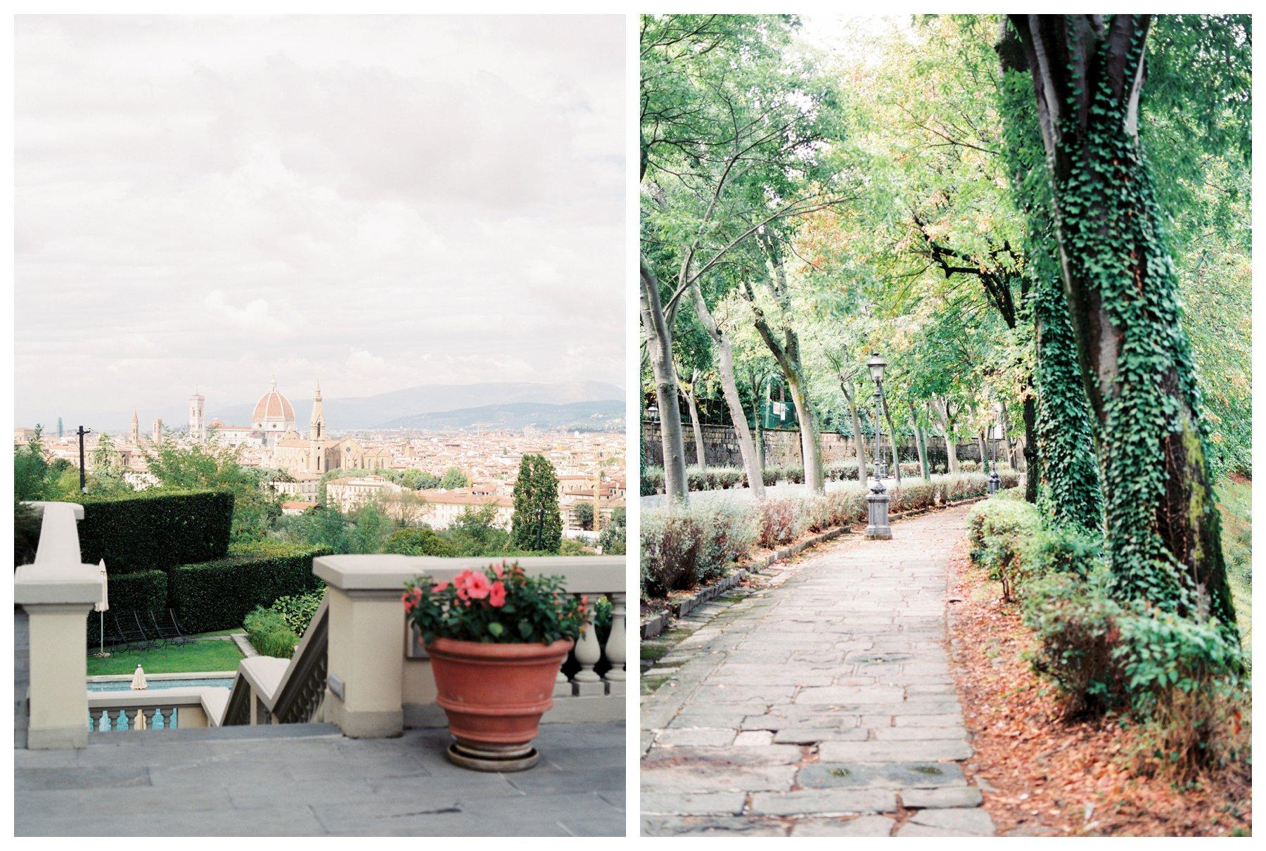 fine art travel photography of Florence from Villa la Vedetta