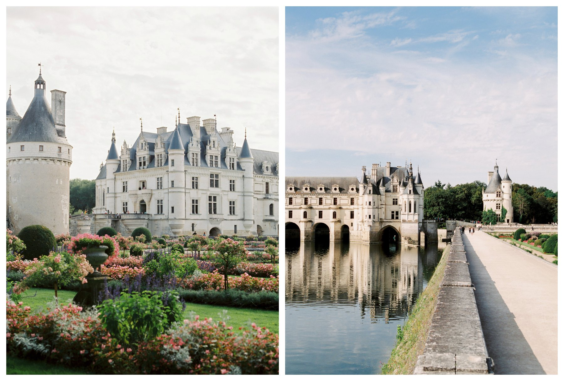 fine art travel photography of Chateau Chenonceau