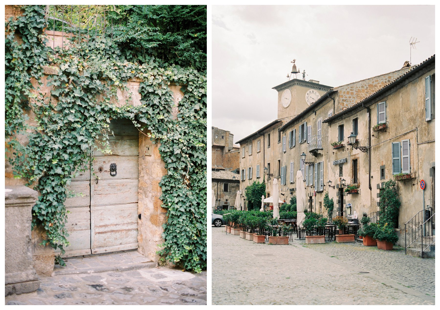 travel photography of the ancient village of Spello in Umbria, Italy