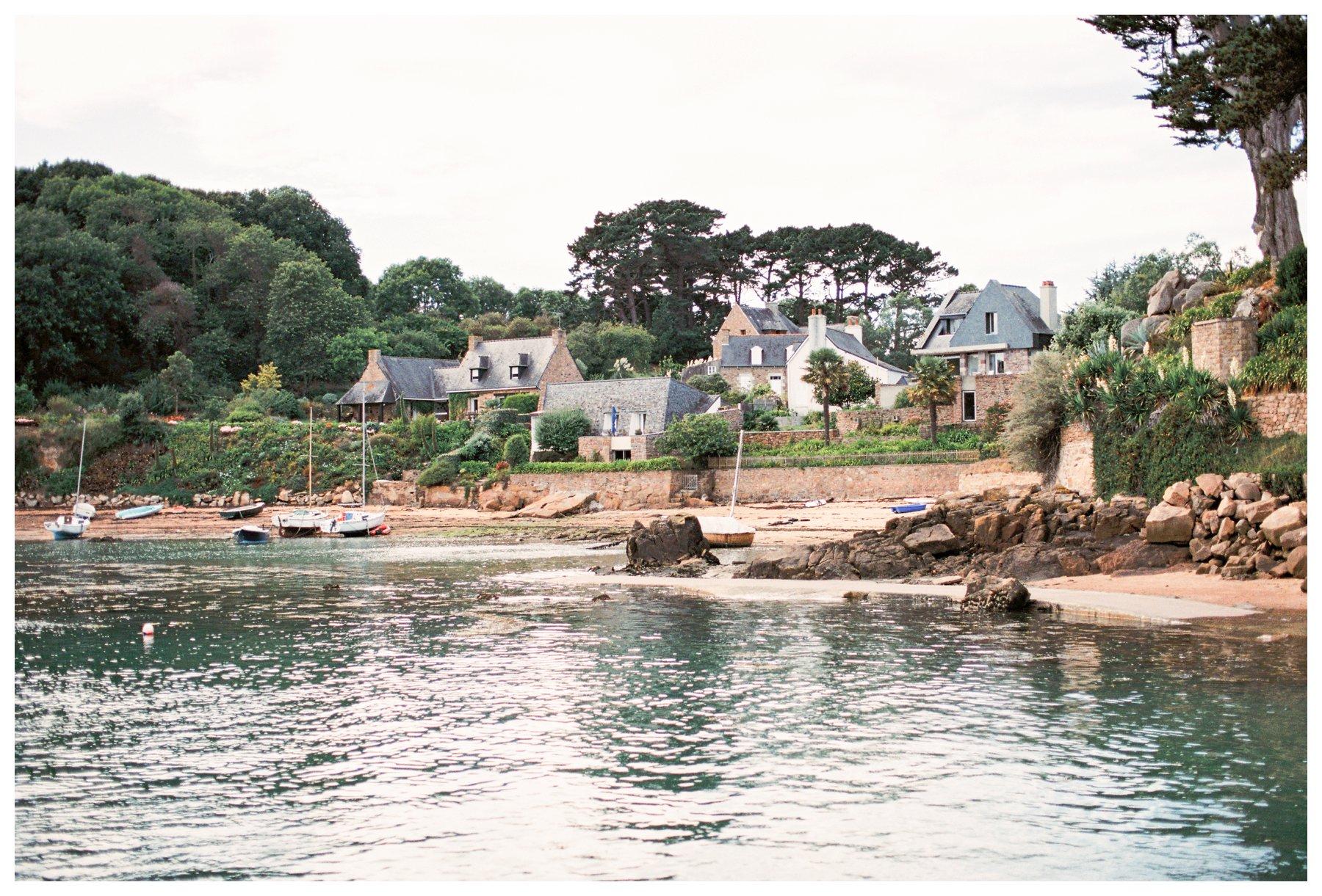 film photography of Ile de Brehat, France